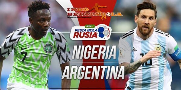 Prediksi Terakhir Grup D Nigeria vs Argentina Di Saint Petersburg Stadium