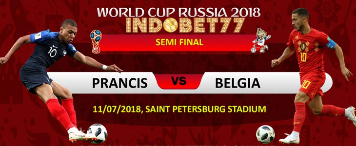 Prediksi Perancis vs Belgia Dalam Perebutan Babak Final Piala Dunia - Bandar Bola Online