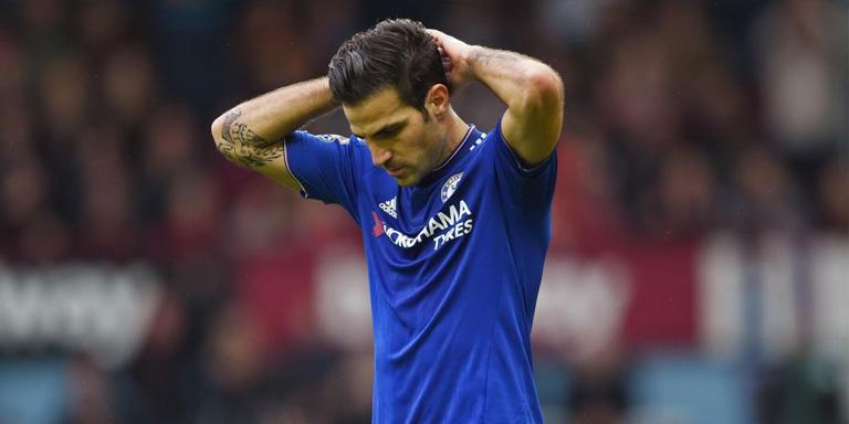 Cesc Fabregas Tinggalkan Chelsea