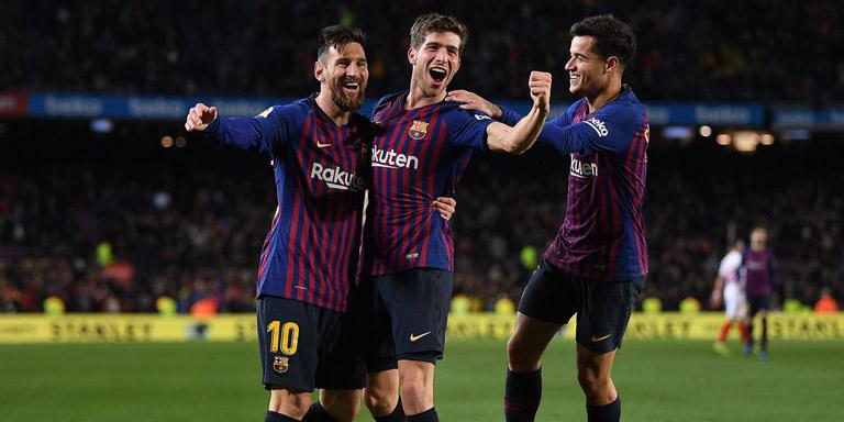Barcelona Menang Besar