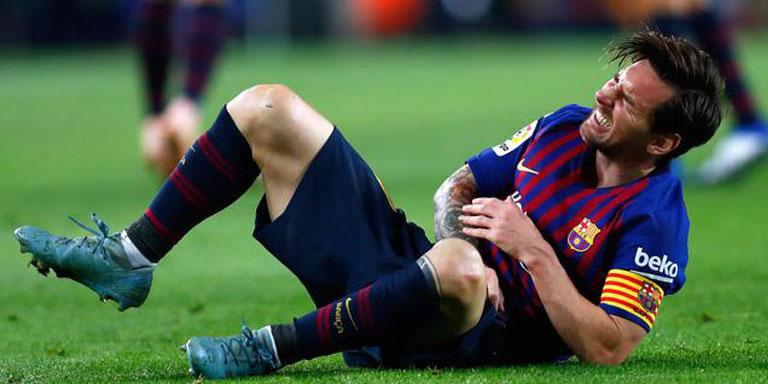 Berharap Messi Tidak Cedera