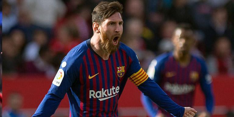 Lionel Messi Hattrick 50