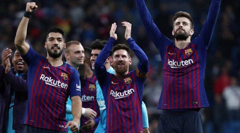 Barcelona Permalukan Madrid