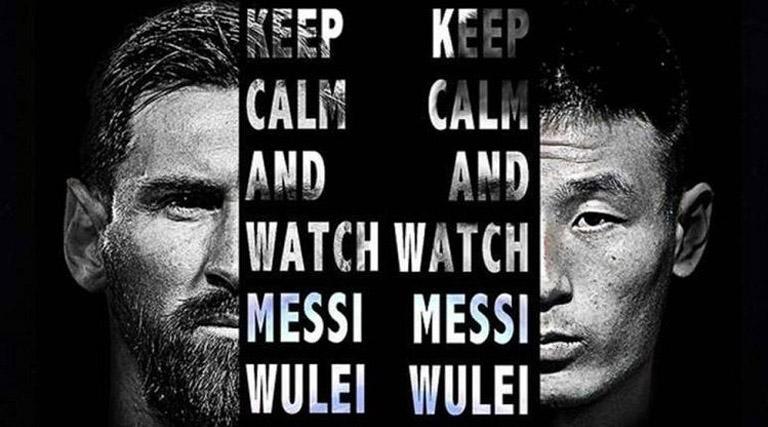 Derby Catalan, Messi jumpa Wu Lei Akan Di Lihat Banyak Penonton Di Cina