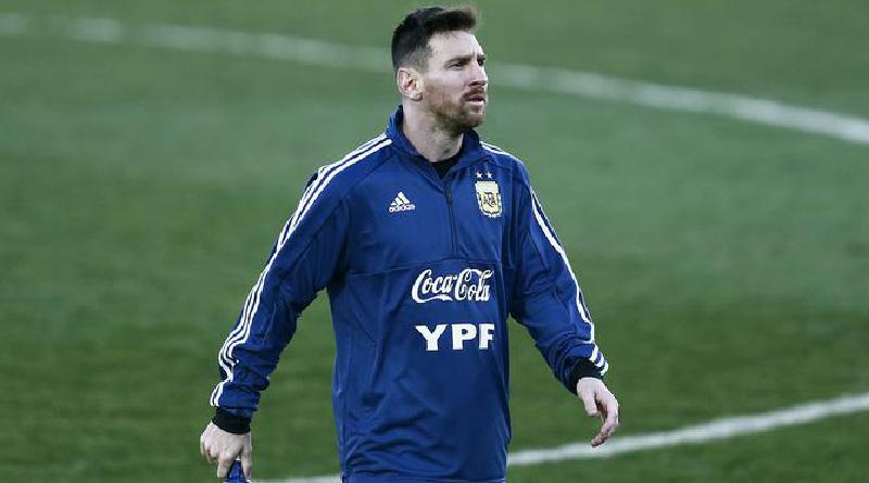 Messi Absen Timnas Argentina