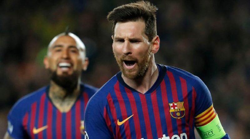 Penghargaan Betis Hattrick Messi