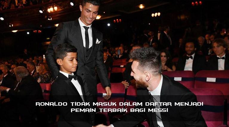 Rasa Hormat Terhadap Juve, Tapi Messi Jengkel Dengan Ronaldo