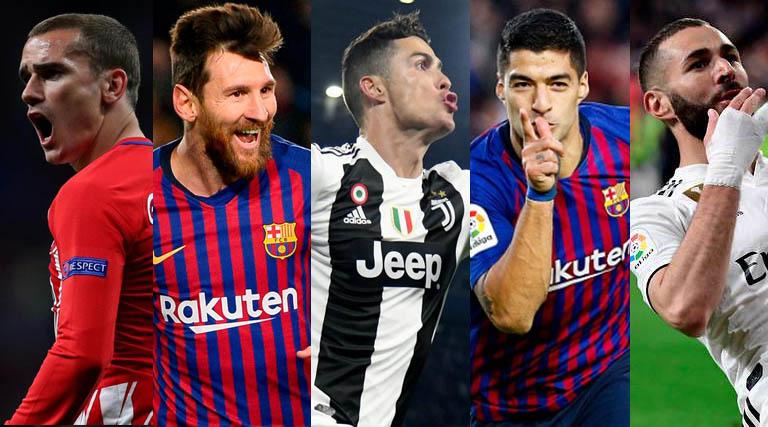 Gol Terbanyak La Liga