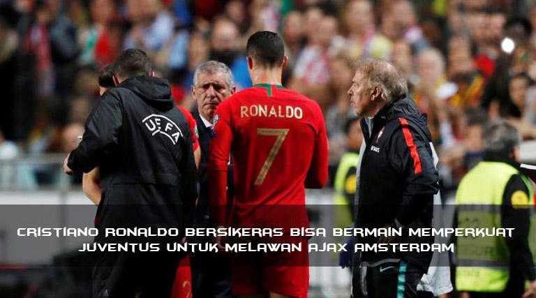 Ronaldo Bersikeras ke Amsterdam