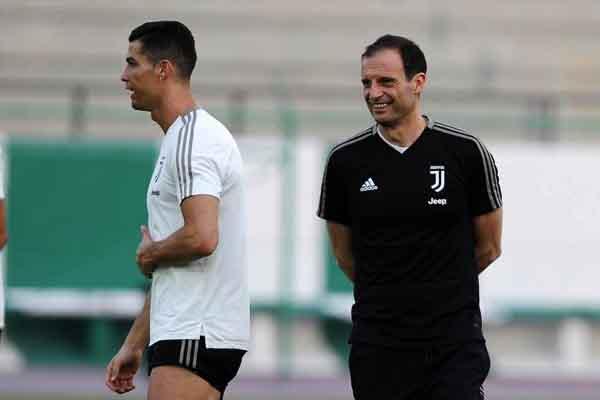Ronaldo Kembali Berlatih, Tapi Ada Berita Buruk Lain Menimpa Juventus