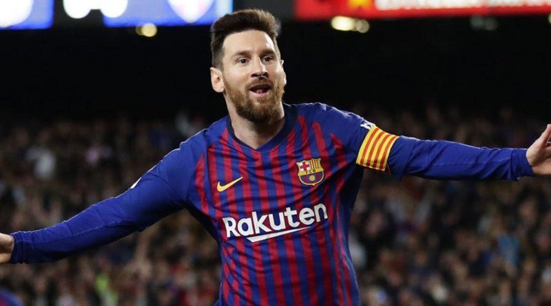 Lionel Messi Raih Sepatu Emas Eropa Keenam Kalinya